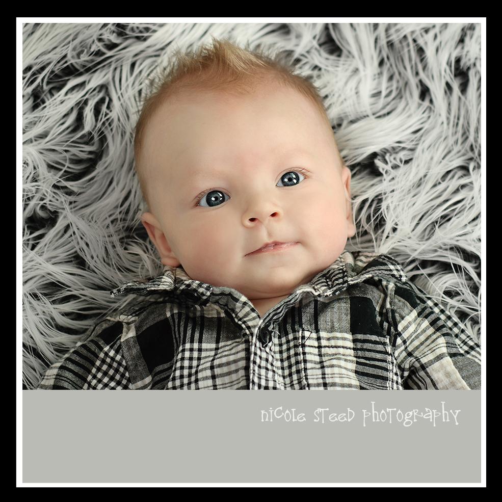 3 month baby m utah baby photographer