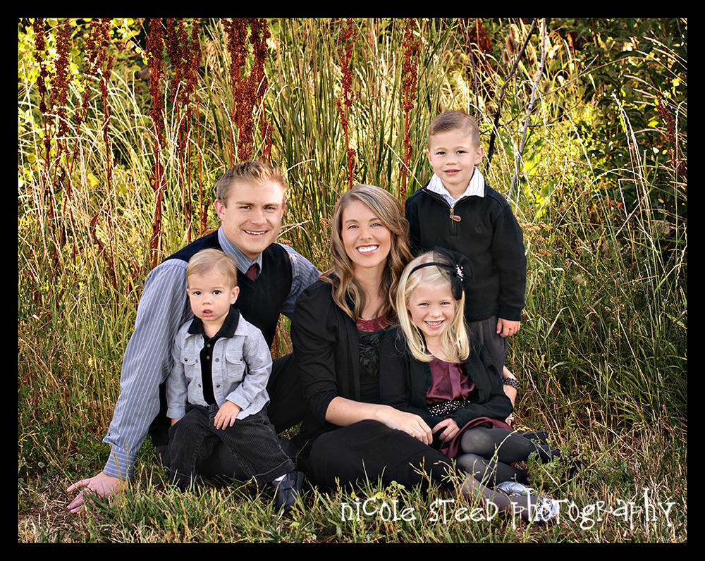 Beautiful Family Of Five Utah Family Photographer