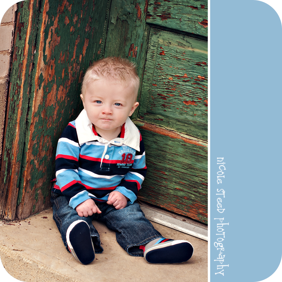 "Adorable 8 Month Old ""C"": Utah Baby Photographer"
